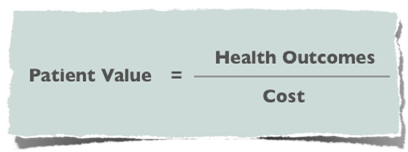 Value Based Care – Outcomes Relative to Cost